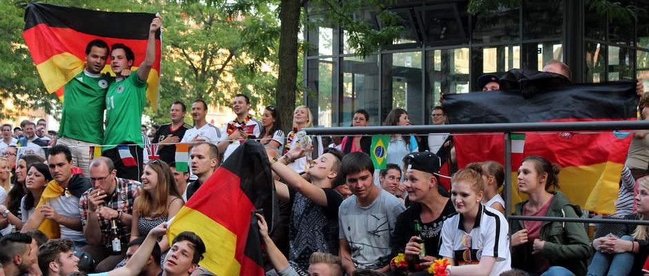 WM Finale 2014 - Deutschland gegen Argentinien