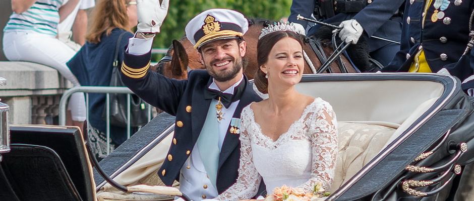 Swedish royal wedding: Prince Carl Philip marries Sofia Hellqvist