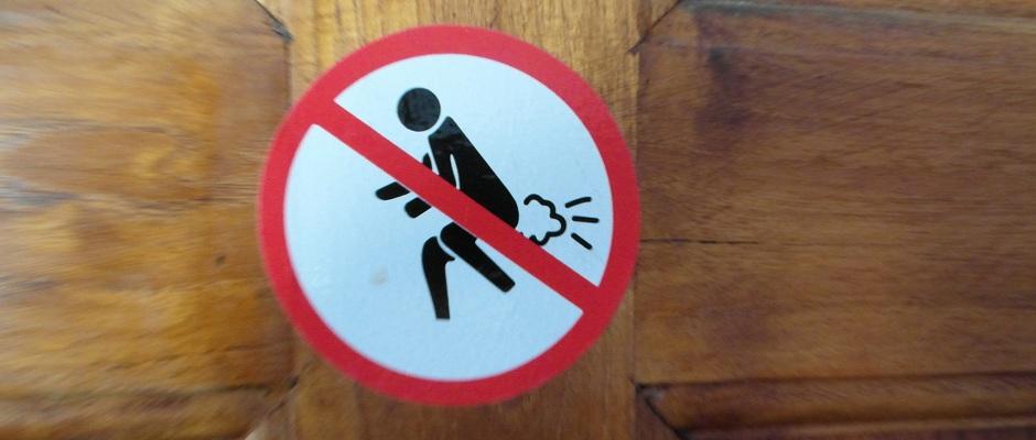 Furtzen verboten!