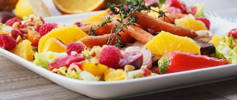 Gemüse & Früchteplatte