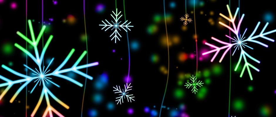 Kreative Schneeflocken
