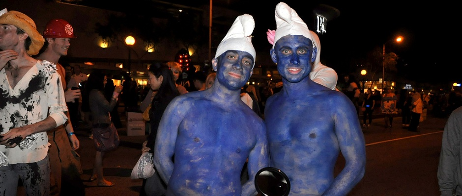 Handy and Vanity Smurf
