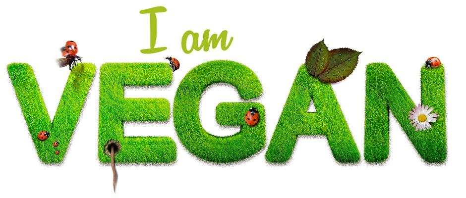 Ich bin vegan