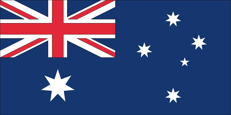 Nationalflagge Australiens