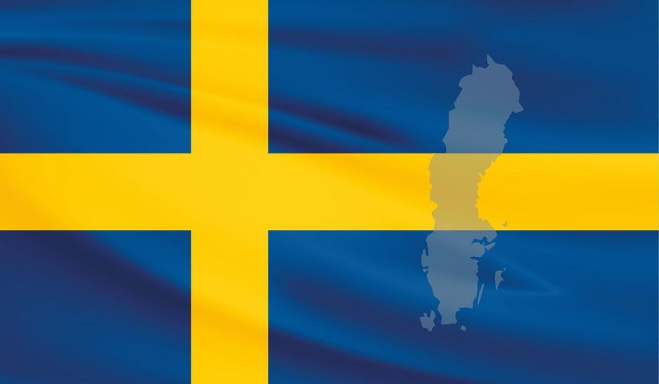 Flagge des Königreichs Schweden