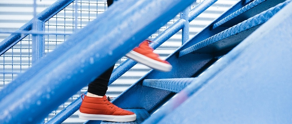 Treppensteigen
