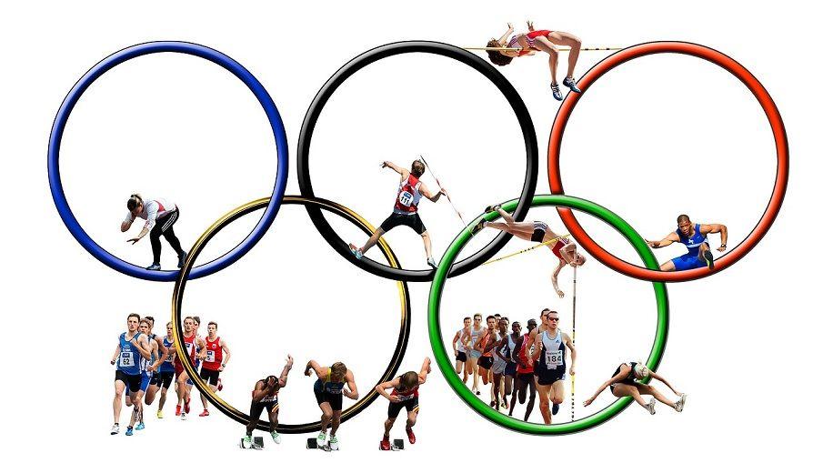Olympischen Ringe (5 Kontinente)