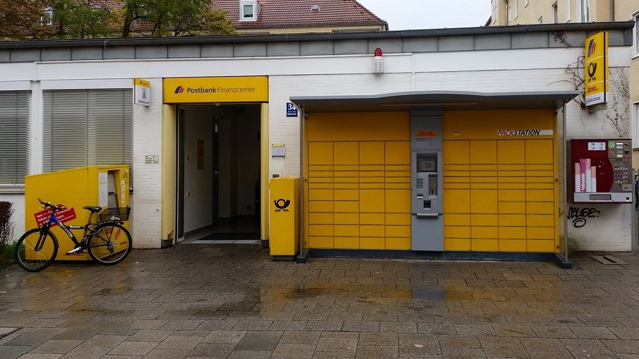 Deutsche Post & DHL Packstation