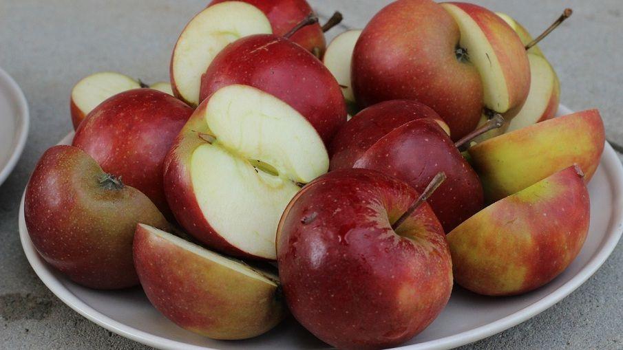Apfelspalten (rot)