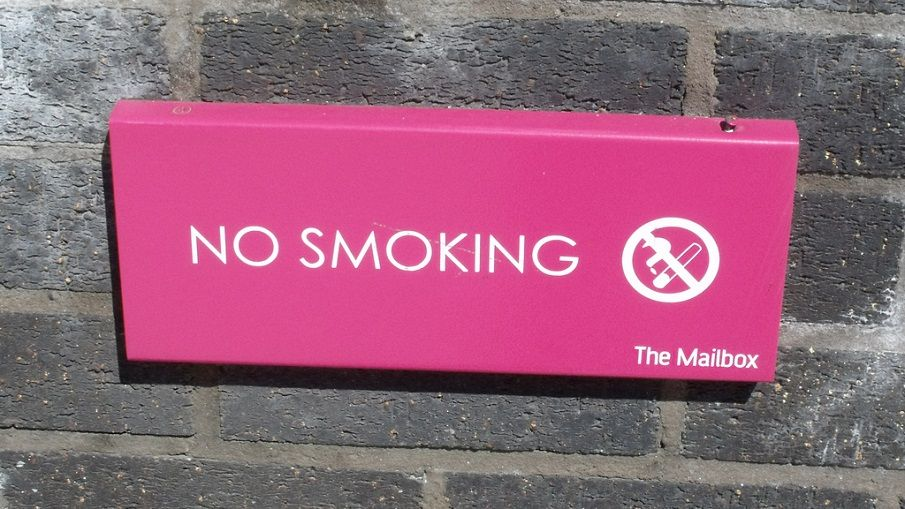 NO SMOKING (The Mailbox)